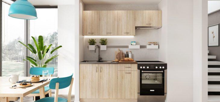 Malá kuchyně = vaše životní výzva