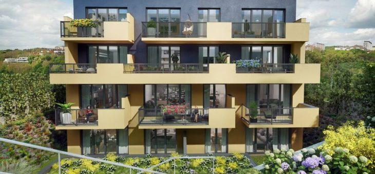 Moderní byty s prosklenými balkony a zimními zahradami. I tak vypadá bydlení v Praze